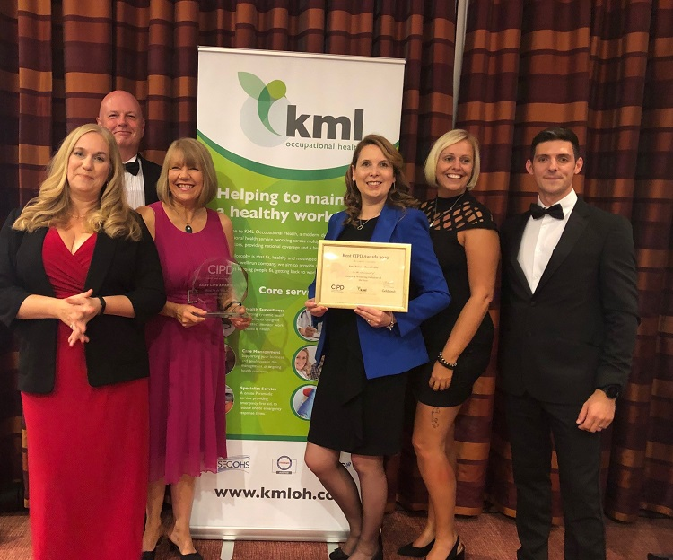 Kent CIPD Health and Wellbeing Initiative Award